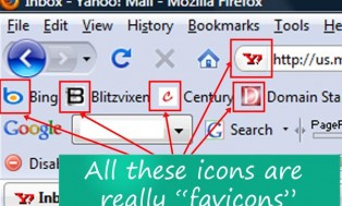 design a favicon and install it on your website