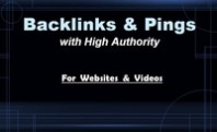 creat 57 backlinks PR0-PR7 and ping your site to 48 top sites